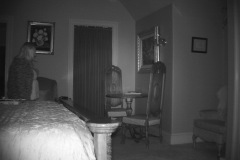 Orb in Motion above doorway.